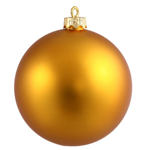 UV Drilled Ball Ornament (Set of 4) by The Holiday Aisle