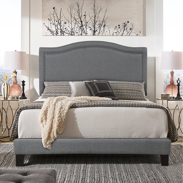 Turnipseed Upholstered Standard Bed by Red Barrel Studio