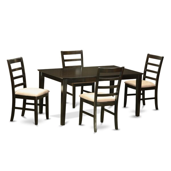 Smyrna 5 Piece Dining Set by Charlton Home