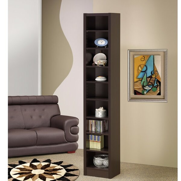 Holahan Narrow Wooden Corner Unit Bookcase by Winston Porter
