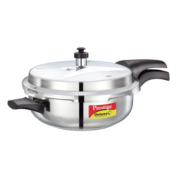Deluxe 4.23-Quart Stainless Steel Senior Pressure Pan by Prestige Cookers