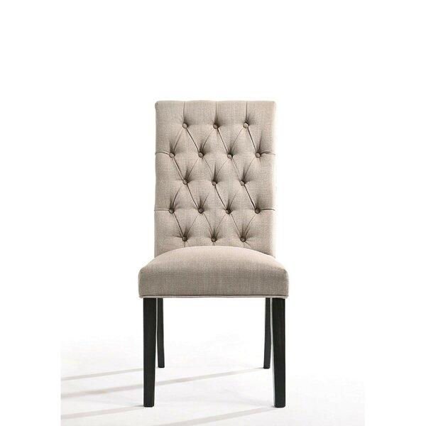 Ewan Upholstered Dining Chair (Set of 2) by Alcott Hill