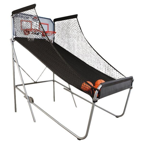 Indoor Double Shot Arcade Basketball System by LifetimeIndoor Double Shot Arcade Basketball System by Lifetime