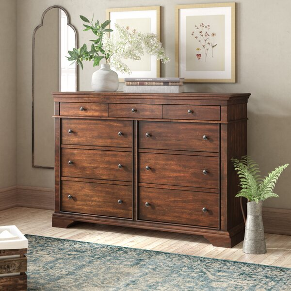 Schaffer 9 Drawer Double Dresser by Birch Lane™ Heritage