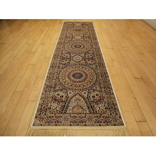 Ries Living Room Hand Knotted Silk Beige Area Rug
