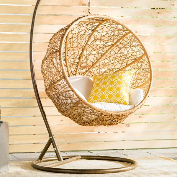 Eliott Swing Chair with Stand by Mistana