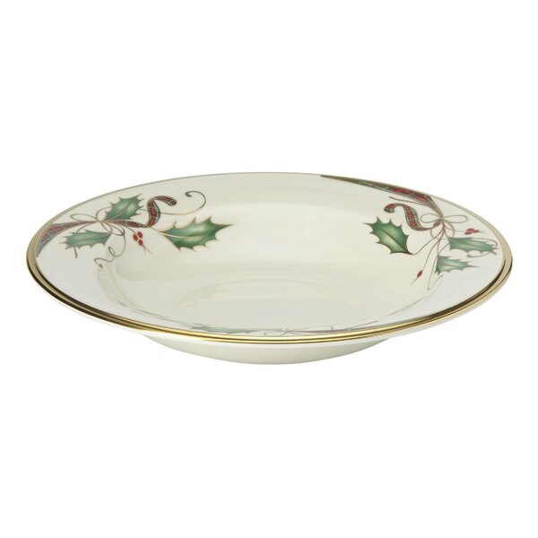 12 oz. Holiday Bone China Pasta Bowl by Lenox