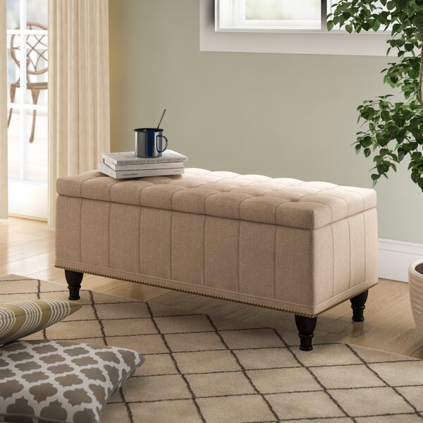 Jaquez Upholstered Storage Bench by Charlton Home
