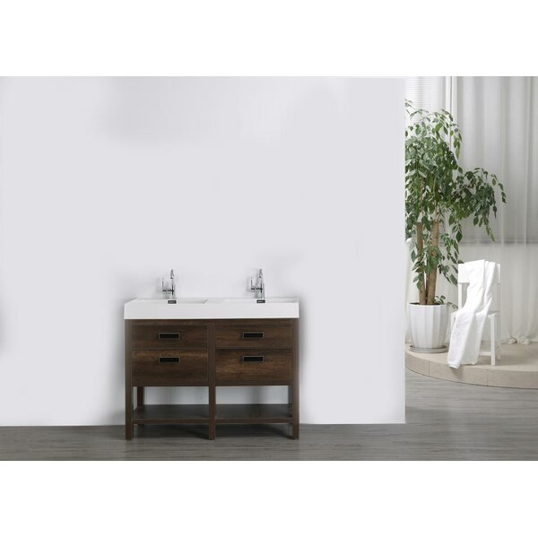 47 Double Bathroom Vanity Set by Streamline Bath