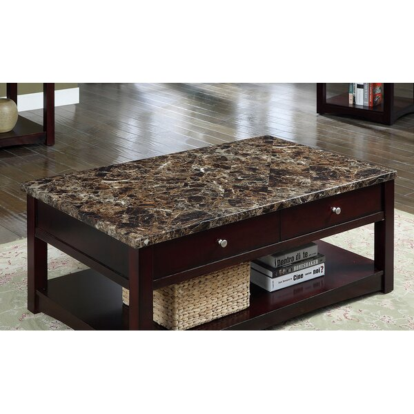 Alyshia Lift Top Coffee Table with Storage by Wrought Studio