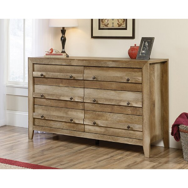 Camdenton 6 Drawer Double Dresser by Foundry Select
