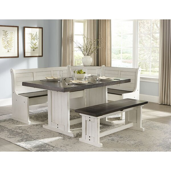 Villepinte 5 Piece Breakfast Nook Dining Set by August Grove