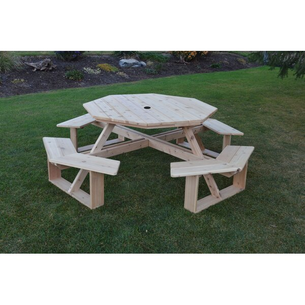 Sirna Picnic Table by August Grove