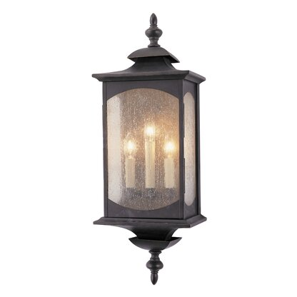 Outdoor wall lights flush mounts perigold market square 3 light outdoor flush mount mozeypictures Choice Image