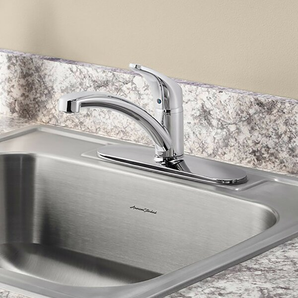 Colony Pro Single Handle Kitchen Faucet with Side Spray by American Standard