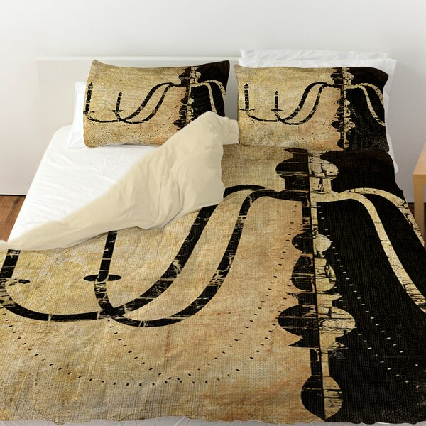 Chandelier 2 Duvet Cover by Manual Woodworkers & Weavers