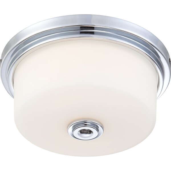 Flush Mount Ceiling Light, Polished Chrome by Birch Lane™