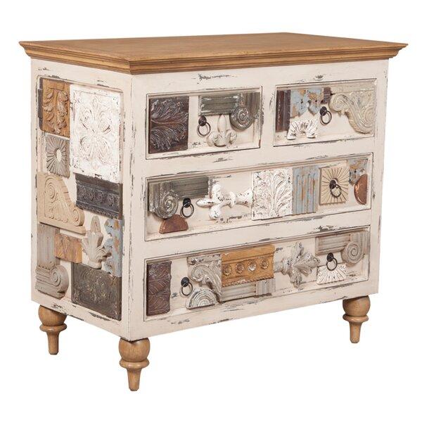 Sanford 4 Drawer Dresser by One Allium Way