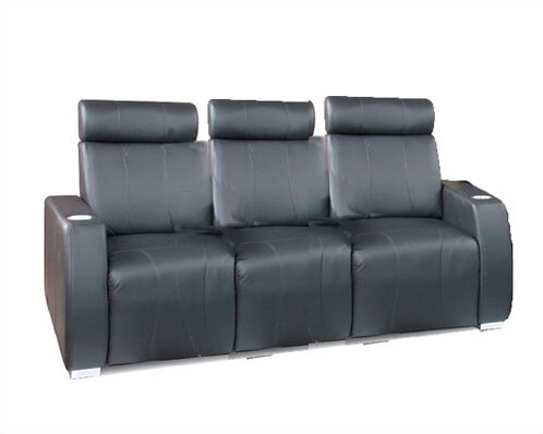 Executive Home Theater Sofa Row Seating (Row Of 3) By Bass