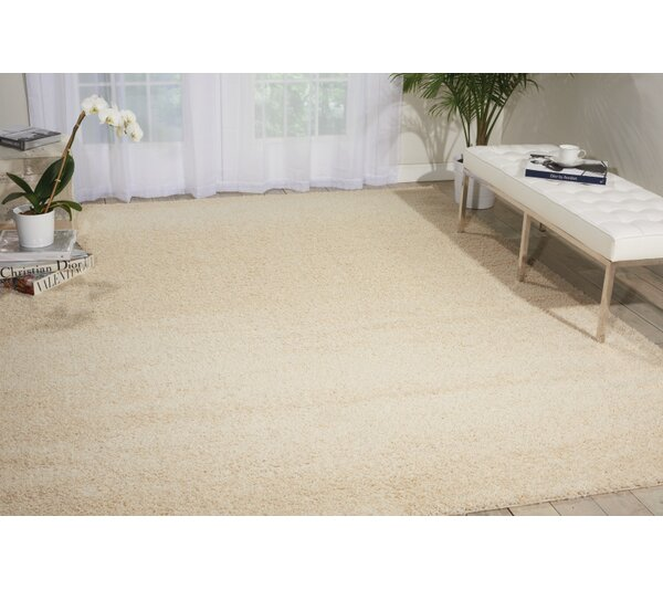 Kalypso Cream Area Rug by Mercury Row