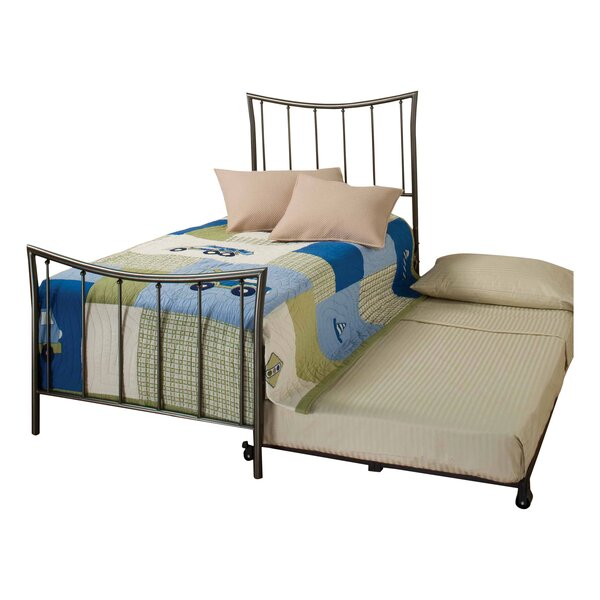Kristopher Twin Panel Bed with Trundle by Latitude Run