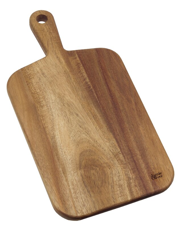 Jamie Oliver Acacia Wood Cutting Board #rustic #cuttingboard #breadboard