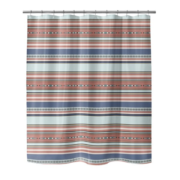Colten Shower Curtain by Bungalow Rose