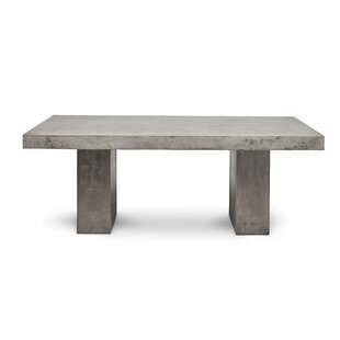 Modern Contemporary Stone Dining Table AllModern - Wood and stone dining table