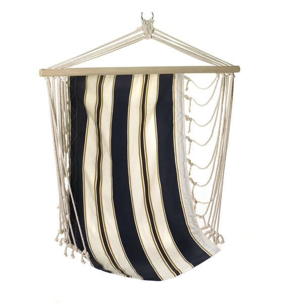 Nautical Stripes Cotton Chair Hammock by Zingz & Thingz