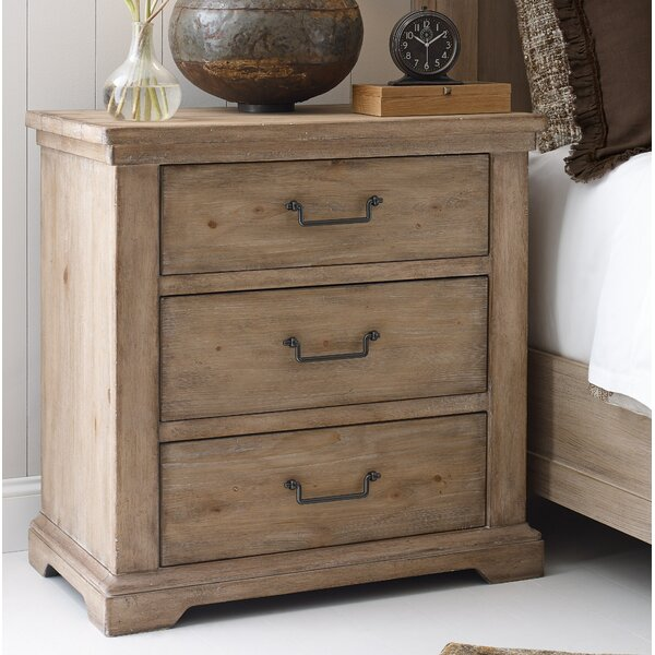 Monteverdi 3 Drawer Nightstand By Rachael Ray Home by Rachael Ray Home Top Reviews