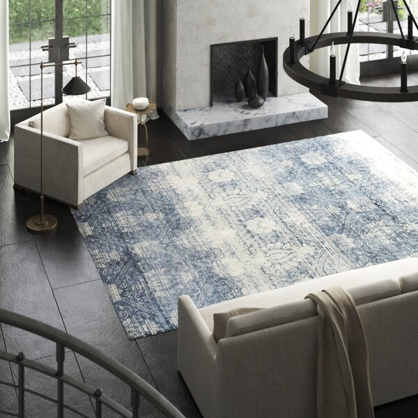Koda Silk Blue Area Rug