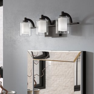 Clearance Aldrich 3-Light Vanity Light By Wade Logan