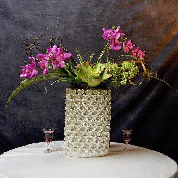 Mixed Centerpiece in Decorative Vase by Rosdorf Park