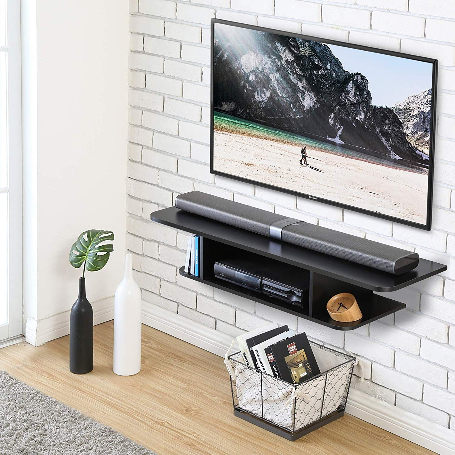 50 59 Inch Floating Tv Stands Entertainment Centers You Ll Love In 2021 Wayfair