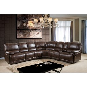 Comfort Reclining Sectional by Ultimate Accents