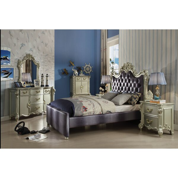Mackenzie Upholstered Standard Bed by Rosdorf Park