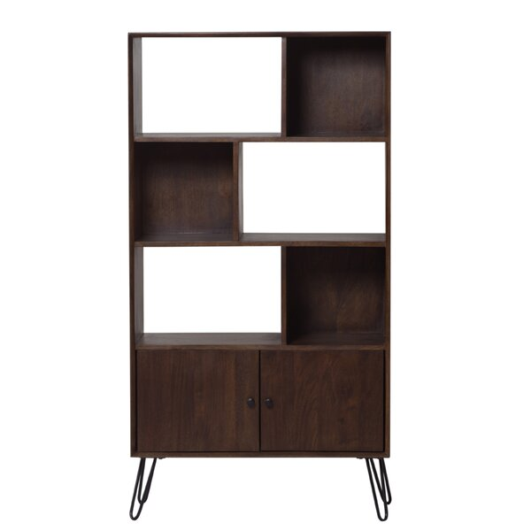 Amee Solid Mango Wood Standard Bookcase by Foundry Select