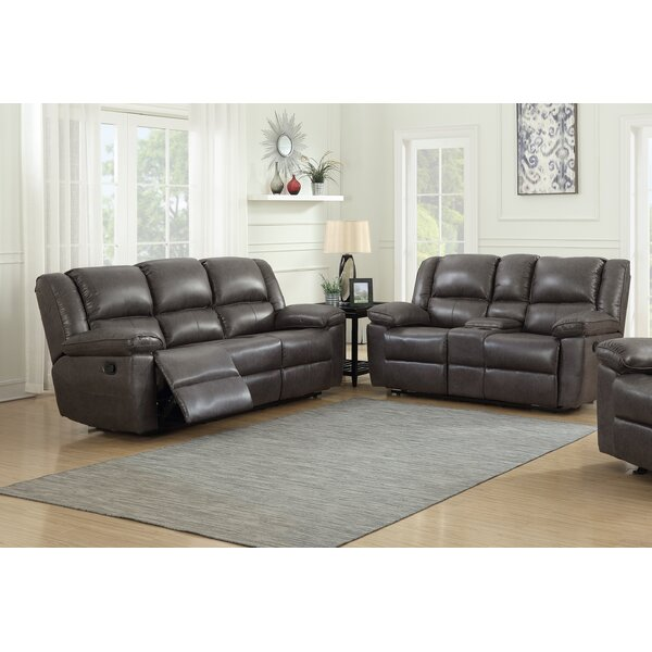 Faiyaz 2 Piece Reclining  Living Room Set by Red Barrel Studio