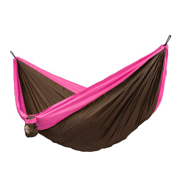 Colibri Double Travel Nylon Camping Hammock by LA SIESTA