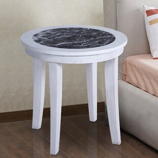 Sturgeon Marble Top End Table