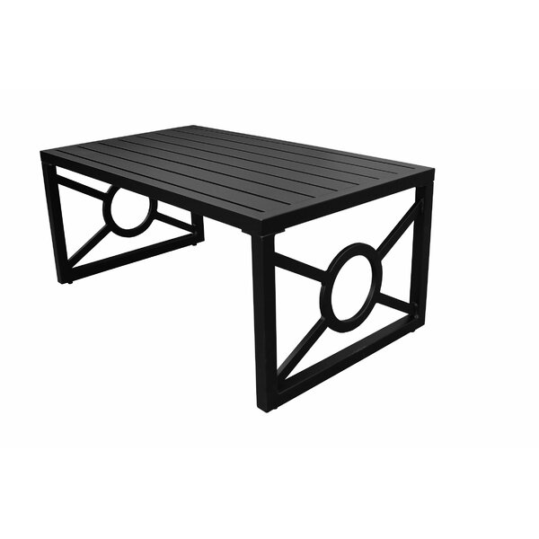 Madison Aluminum Coffee Table By Kathy Ireland Homes & Gardens By TK Classics by kathy ireland Homes & Gardens by TK Classics Great Reviews