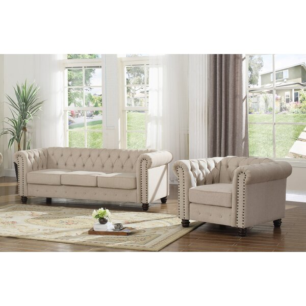 Howington 2 Piece Living Room Set by Alcott Hill