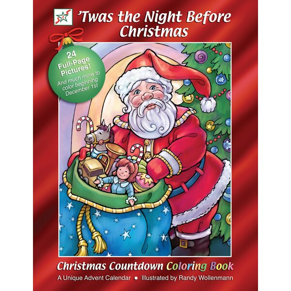 Twas the Night Before Christmas Book Advent Calendar by The Holiday Aisle