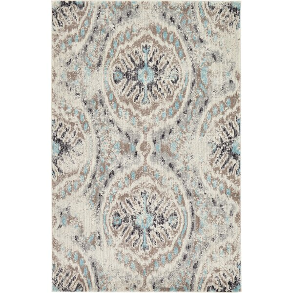 Alstrom Silver Area Rug by Bungalow Rose