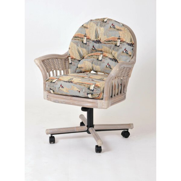 Moonsu Arm Chair by Bayou Breeze