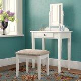 Antique White Vanity Set Wayfair