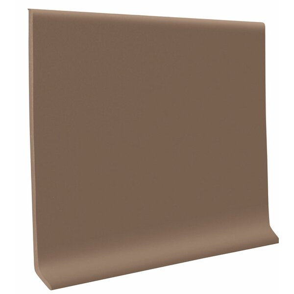 0.13 x 48 x 4 Cove Molding in Toffee (Set of 30) by ROPPE