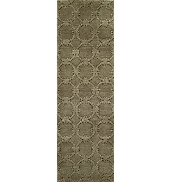 Amacker Hand-Woven Sage Area Rug by Langley Street