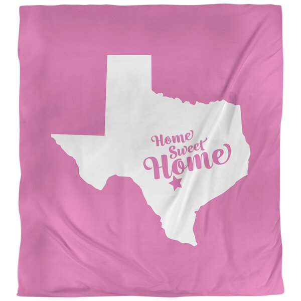 Home Sweet San Antonio Single Reversible Duvet Cover