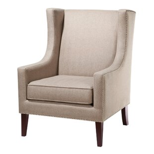 agnes wingback chair by three posts for sale